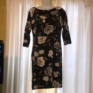 Body con floral work wear mini dress